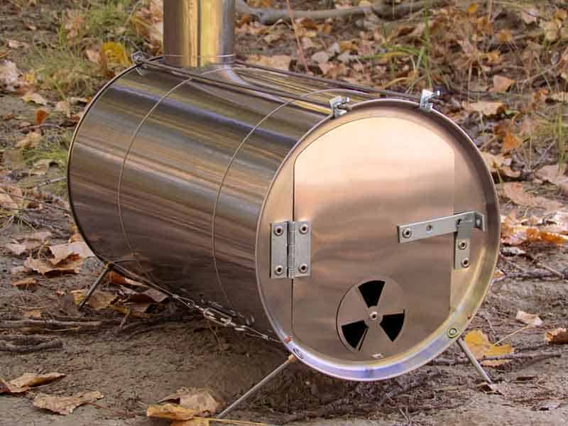 Previous & LiteOutdoors Titanium Stove