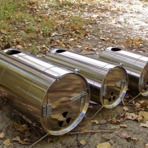 Titanium Cylinder Stoves