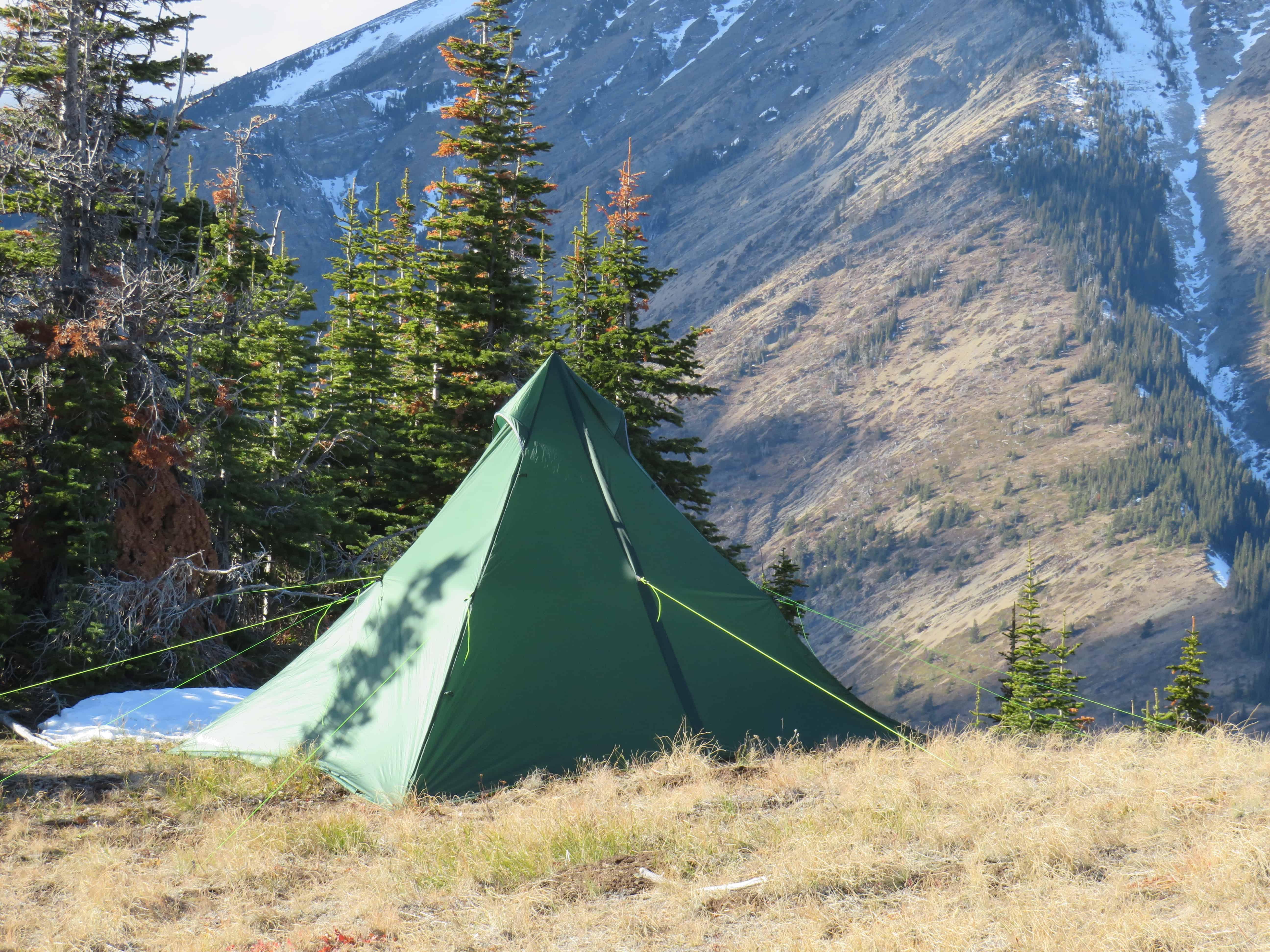 & LiteOutdoors Plateau 5 - Lightweight Tipi Tent